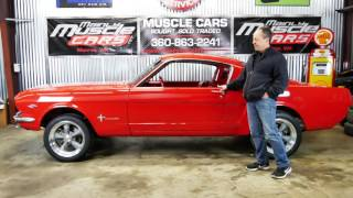 1965 Mustang Fastback Red