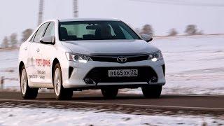 Новая Toyota Camry 2015-2016 - фото, цена, тест-драйвы, видео, технические характеристики