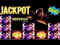 Buffalo Deluxe Slot Machine $10 Max Bet  🌟HANDPAY JACKPOT🌟 | Aristocrat Slot | Live Slot | NG Slot