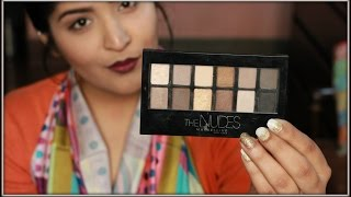 Maybelline The Nudes Eyeshadow Palette Review And Swatches | 5 New Ways To Use It