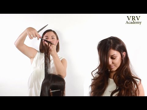 Метод стрижки сечённых волос бритвой от Вартана Болотова.