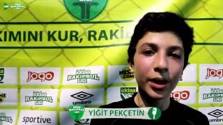 Made İn İzmir - Revengers FC Maç Röportajı / İZMİR / iddaa Rakipbul Ligi 2015 Açılış Sezonu