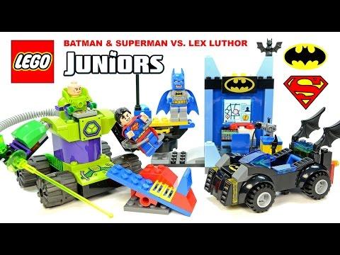 LEGO® Juniors 10724 Batman & Superman vs. Lex Luthor DC Comics Super Heroes Speed Build