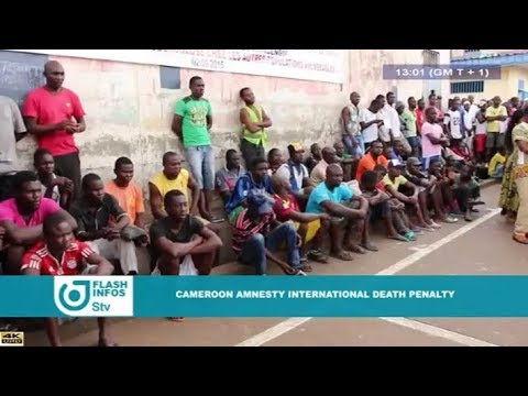 STV 01:00 PM FLASH INFO ENGLISH - (CAMEROON/AMNESTY INTERNATIONAL : DEATH PENALTY) - 17th April 2018