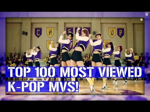 [TOP 100] MOST VIEWED K-POP MUSIC VIDEOS [AUGUST 2016]