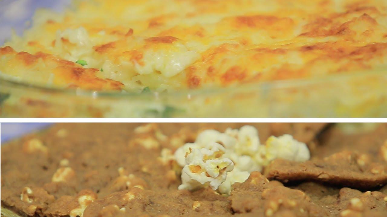أرز بالجبنة والسبانخ - كوكيز الفشار : بالهنا حلقة كاملة