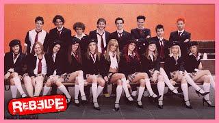 Rebelde: Llegan nuevos alumnos al Elite Way School | Escena C216-C217 | Tlnovelas