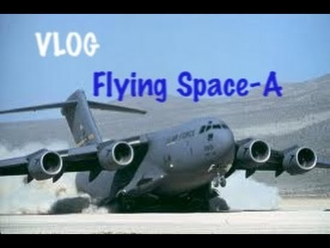 FLYING MILITARY SPACE-A FLIGHTS - September 18, 2012 - usaaffamily vlog