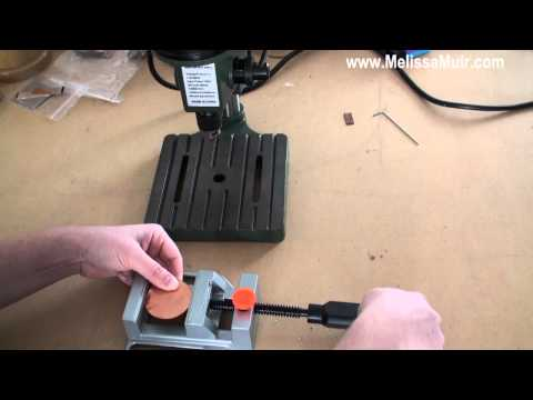 Tool Time Tuesday - Using a Drill Press Vise