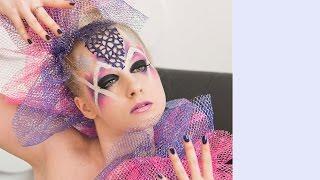Футуристический макияж (прям невеста из будущего) // Олеся Полохина - Olesya Polokhina
