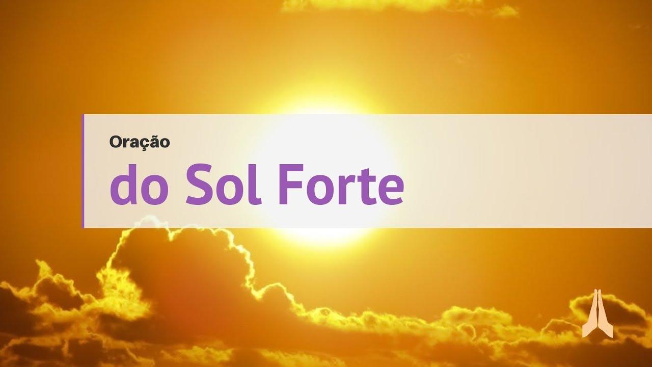 03f74988717f8 Oração do Sol Forte para Amarração
