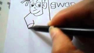 Menggambar Kreatif dari Kata PAHLAWAN