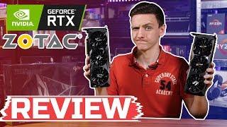 ZOTAC RTX 2080ti amp 2080 Review