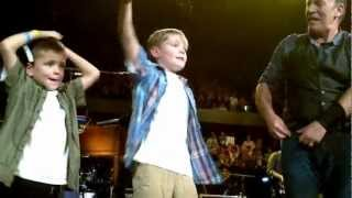 Bruce Springsteen and the Bradley Boys singing Waiting on a Sunny Day - Ottawa 10/19/12