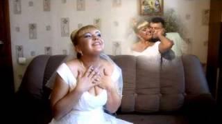 Фрагмент свадебного фильма  Сборы невесты  Валерия