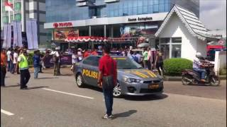 Detik-detik Pelepasan Touring Kemerdekaan 3 Negara Velozity dan TKCI