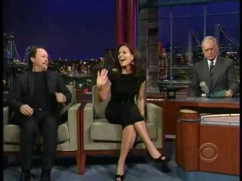 David Letterman Show with Billy Crystal checking out Kara Dioguardi's fine assets.mpg