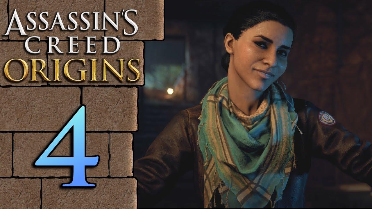Assassin S Creed Origins Ita 4 Presente Layla Hassan Youtube