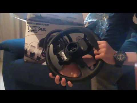 unboxing thrustmaster t300rs gt edition youtube. Black Bedroom Furniture Sets. Home Design Ideas