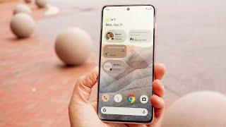 Android 12 sneak peek?