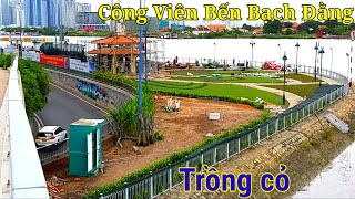 Cuộc sống sài gòn. Hình ảnh mới về Công Viên Bến Bạch Đằng Thành phố Hồ Chí Minh.