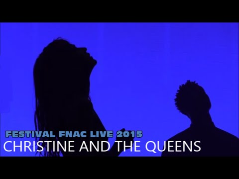 CHRISTINE AND THE QUEENS AU FESTIVAL FNAC LIVE PARIS LE 16 JUILLET 2015
