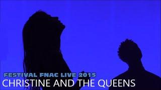 CHRISTINE AND THE QUEENS AU FESTIVAL FNAC LIVE PARIS LE 16 JUILLET 2015