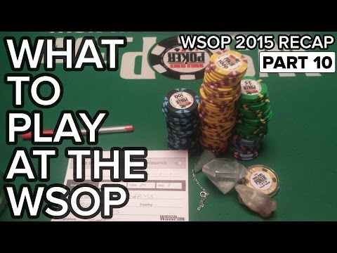 What to Play and When To Register to Maximize Your $EV at the WSOP - 동영상