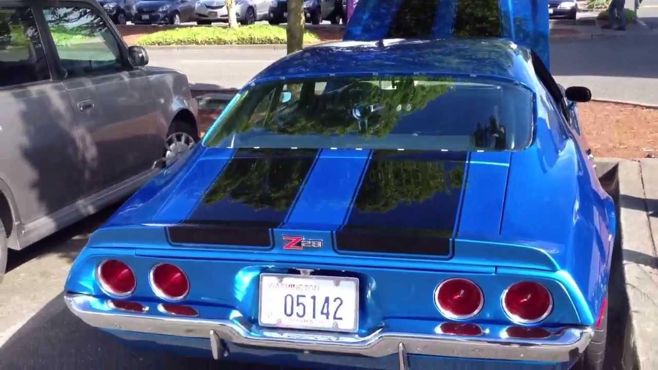 Camaro Pro Touring >> Pro charged 1970 1/2 Camaro pro-touring - YouTube