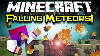 Minecraft: FALLING METEOR MOD Spotlight - Maybe The Mayan