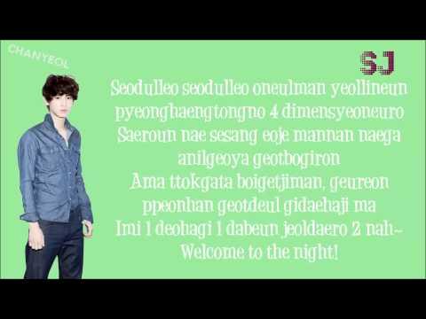 EXO-K ft.Key Two Moons Lyrics