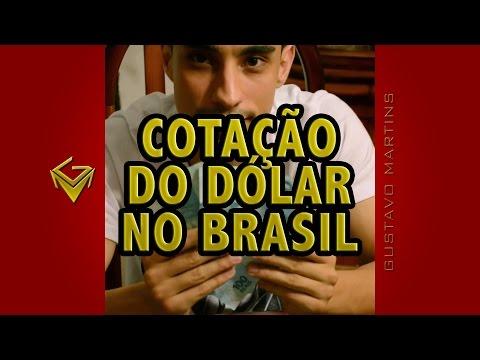 Cotação do dólar no Brasil