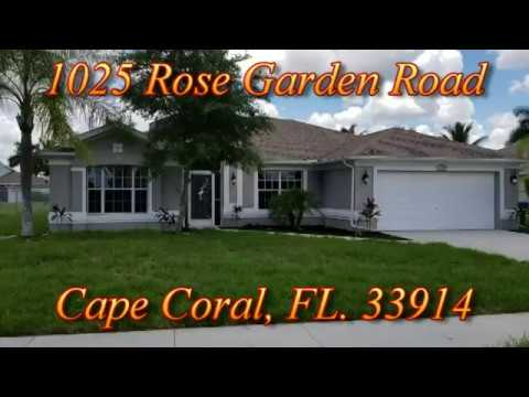 FINISHED! 1025 Rose Garden Road, Cape Coral, FL  33914
