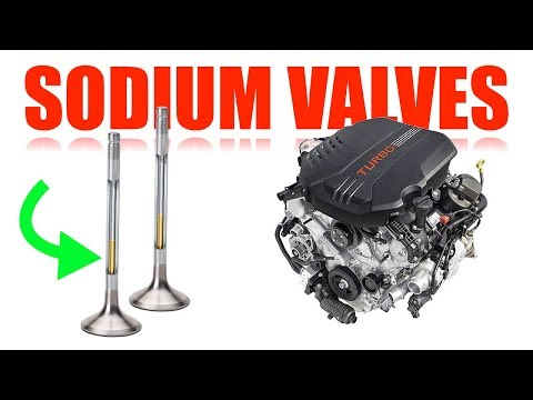 How Sodium Filled Exhaust Valves Work - Kia Stinger GT - Best Engines