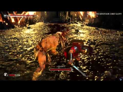 Ryse: Son of Rome - Minotaur Chief Glott - Help!