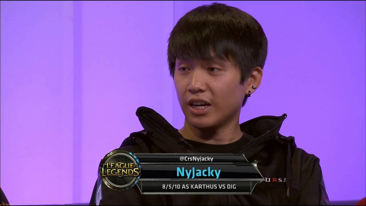 Interview with Curse Voyboy and NyJacky    NA LCS Summer split 2013 W2D2