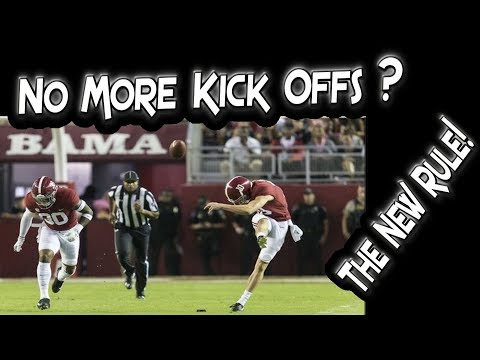Football's New Kickoff Rule & How It Will Impact The Game?