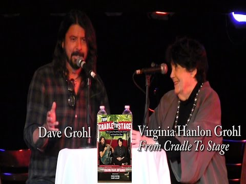 Virginia Hanlon Grohl with Dave Grohl,