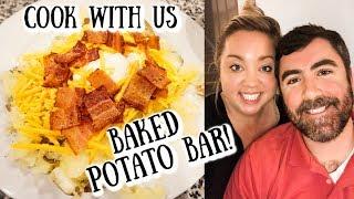 BAKED POTATO BAR | COOK WITH US | JESSICA O'DONOHUE
