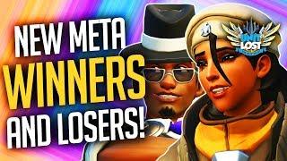 Overwatch Mercy Meta DEAD - New Meta Winners and Losers! [Moira Meta INCOMING!]