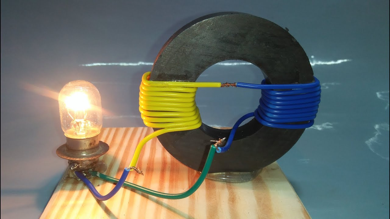 free energy generator magnet coil 100 real new technology new idea project [ 1280 x 720 Pixel ]