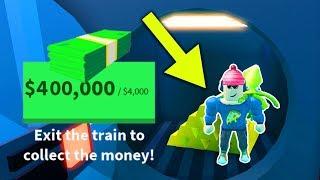 Wie bekomme ich MAX CASH aus dem Zug! (Roblox Jailbreak Winter Update)