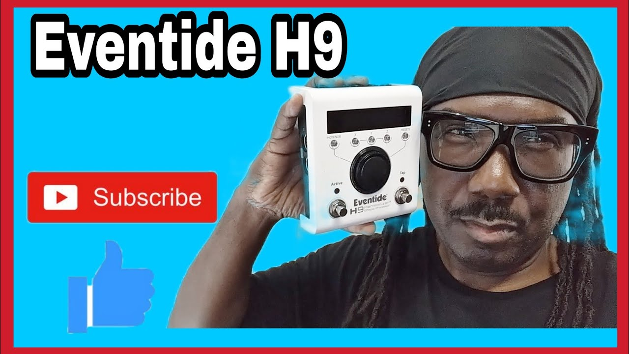 Exploring the Eventide H9 multi effects pedal with the Trumpet.