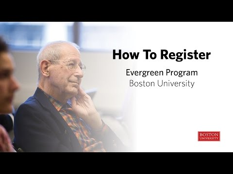Evergreen Program at Boston University