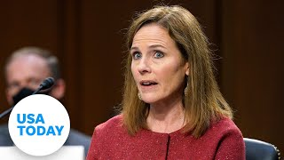 Amy Coney Barrett says racism persists in America, cites George Floyd | USA TODAY