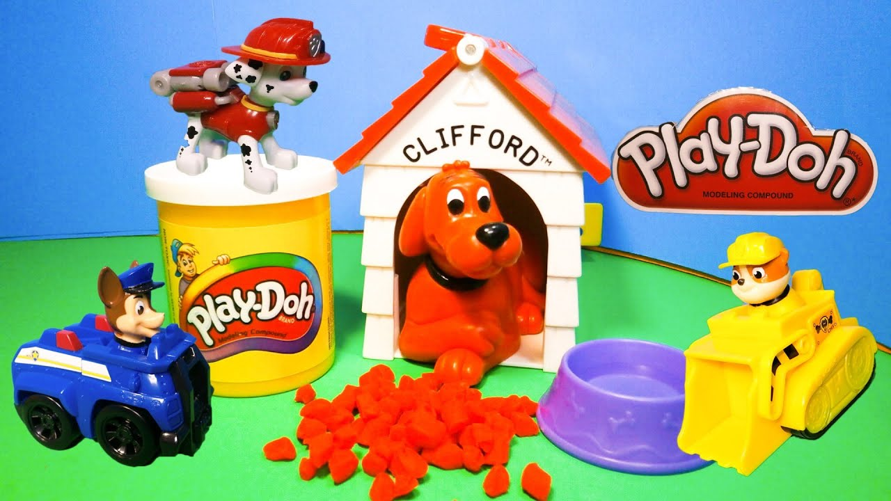 how to clean play doh toys