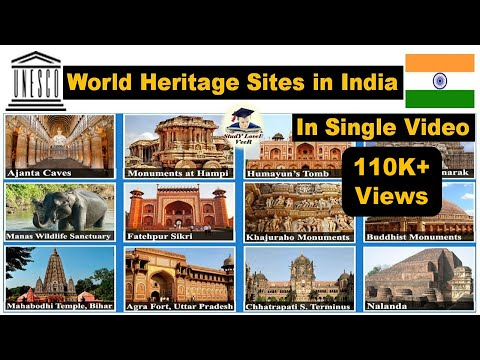 World Heritage Sites in India | UNESCO World Heritage Sites|