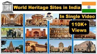 World Heritage Sites in India | UNESCO World Heritage Sites| भारत में विश्व विरासत स्थल  by Veer