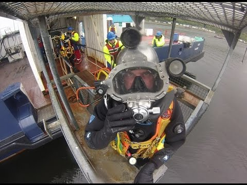 Commercial Diver Training at the PDA, Dunoon, Scotland.