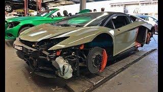 #RDBLA Aventador custom Khaki Green Wrap!